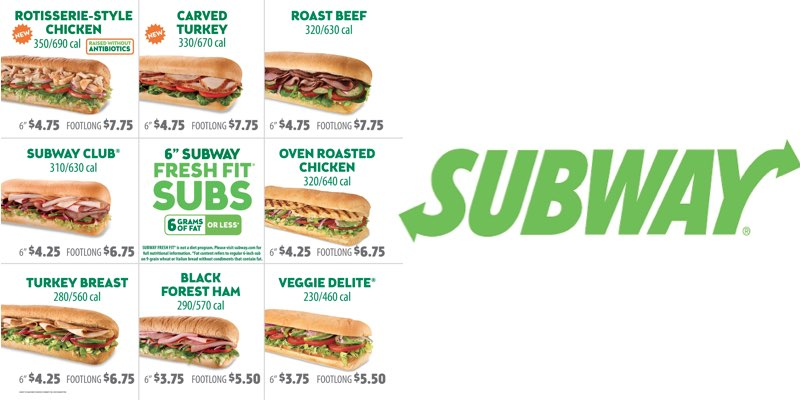 ingredientes latam este mes subway incluir las